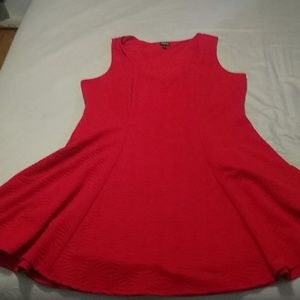 Red dress torrid size 3